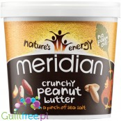 Meridian Peanut & pinch of Salt 1KG Crunchy