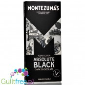 Montezuma's Absolute Black 100% Cocoa Solids with Almonds 100G