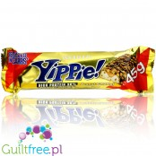 Yippie! Bar Peanut-Caramel 45g, protein bar