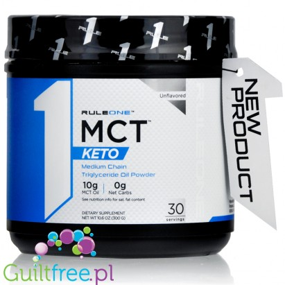 Rule1 MCT Keto Unflavored 300g