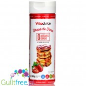 Vitadulce Sugar-Free Strawberry Topping with no carbs, 150kcal