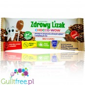 Mniam Chocco Wow sugarfree lollipop with xylitol