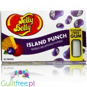 Jelly Belly Island Punch - sugar free chewing gum blister pack