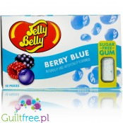 Jelly Belly Berry Blue, guma do żucia bez cukru, blister