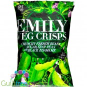 Emily Veg Crisps Spring Green French Broad Beans, Edamame & Snap Peas