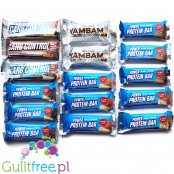Body Attack set of 16 mini-bars (YamBam, Carb Control, Power Protein)