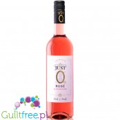 Just 0 Rosé Wine 250ml - alcohol free semi sweet white wine 24kcal