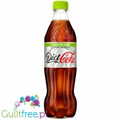 Diet Coke Sublime Lime 500ml, zero kalorii & bez cukru