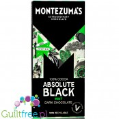 Montezuma's Absolute Black Mint 100% Cocoa Solids with peppermint oil