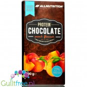 AllNutrition Protein Chocolate with sugar free Peach filling