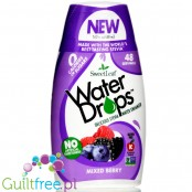 SweetLeaf Water Enhancer Drops Mixed Berry, naturalny smacker do wody ze stewią