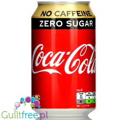 Coca Cole Diet without caffeine