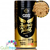GBS Angel's Touch instant flavored coffee with caffeine boost, Biscoff Cookie