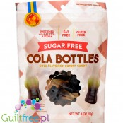 Candy People Sugar Free Cola Bottles, Cola Flavored Gummy Candy