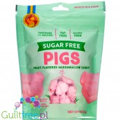 Candy People Sugar Free Pigs, Fruit Flavored Marshmallow Candy