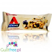 Atkins Meal Blueberry Greek Yogurt protein bar without maltitol