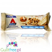 Atkins Snack Honey Almond Greek Yogurt - niskocukrowy baton 12g białka, bez maltitolu