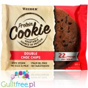 Weider protein cookiaWeider Protein Cookie Double Choc Chips - vegan cookie with no sweeteners