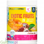 AllNutrition Exotic Fruits In Jelly, whole fruits in sugar free jelly sauce