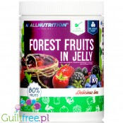 AllNutrition Forrest Fruit in Jelly, fruits in sugar free jelly sauce