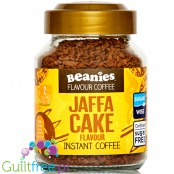 Beanies Jaffa Cake instant flavored coffee 2kcal pe cup