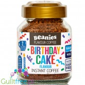 Beanies Birthday Cake instant flavored coffee 2kcal pe cup