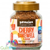 Beanies Cherry Bakewell instant flavored coffee 2kcal pe cup
