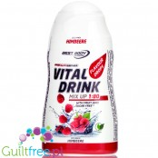 Vital Drink Raspberry concentrated water flavor enhancer