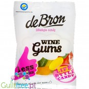 DeBron Winegums - sugar free sour fruit jellies