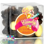 Secret Candy Chocolate Nibble Mix - no added sugar milk chocolate covered nuts