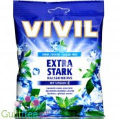 Vivil Extra Stark sugar free menthol candies with vit C