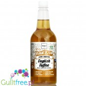 Skinny Food Co Barista Zero Calorie Coffee Syrup 1L English Toffee