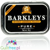 Barkleys Liquorice Pure sugar free candies in crafted tin