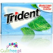 Trident Mint Bliss sugar free chewing gum with xylitol