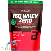 BioTech USA Iso Whey Zero Raspberry 0,5kg, lactose free, summer 2020 limited edition
