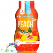 AllNutrition Sweet Sauce Peach, sugar, fat & calorie free