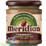 Meridian crunchy almond butter 100% nuts