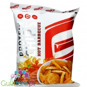 GOT7 Vegan Protein Chips Hot Barbecue 25% protein, 120kcal