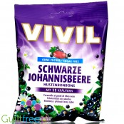 Vivil Blackcurrant sugar free candies with with 11 Alpine herb extracts
