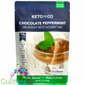 Keto and Co Decadent Keto Dessert Mix, Chocolate Peppermint