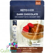 Keto and Co Decadent Keto Dessert Mix, Dark Chocolate