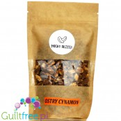 Mocny Orzech - peanuts with cinnamon, sweetened with erythritol