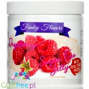 Funky Flavors Sugar Free Jelly Raspberry with real fruit pieces