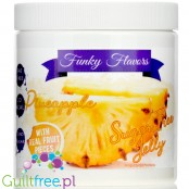 Funky Flavors Sugar Free Jelly Pineapple with real fruit pieces