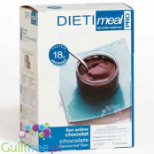 Dieti Meal high protein chocolate flan