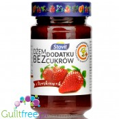 Stovit sugar free strawberry spread sweetened with xylitol