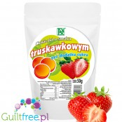 Radix Strawberry, sugar free hard candies with stevia