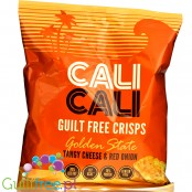 Cali Cali Guilt-Free Crisps Golden State - Tangy Cheese and Red Onion