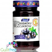 Stovit sugar free blackcurrant spread sweetened with xylitol