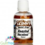 The Skinny Food Co Flavour Drops Roasted Hazelnut 50ml liquid sweetened flavoring drops